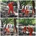 PROFE OTRO 100!! Obras Públicas realiza limpieza en liceo Dominga Sanlate Barahona