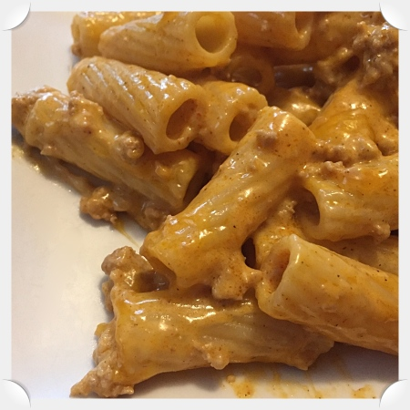 Cream Cheese Rigatoni