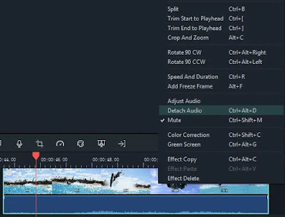 Tutorial edit suara wondershare filmora9
