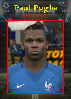 PES 2016 Paul Pogba New Face