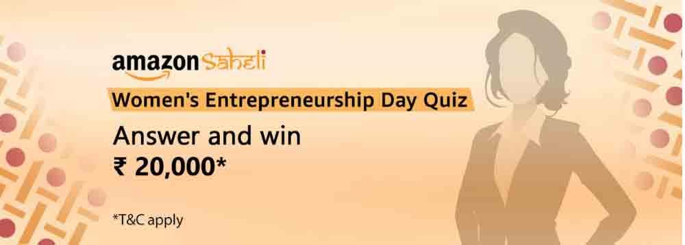 Amazon Women's Entrepreneurship Day Quiz Answers