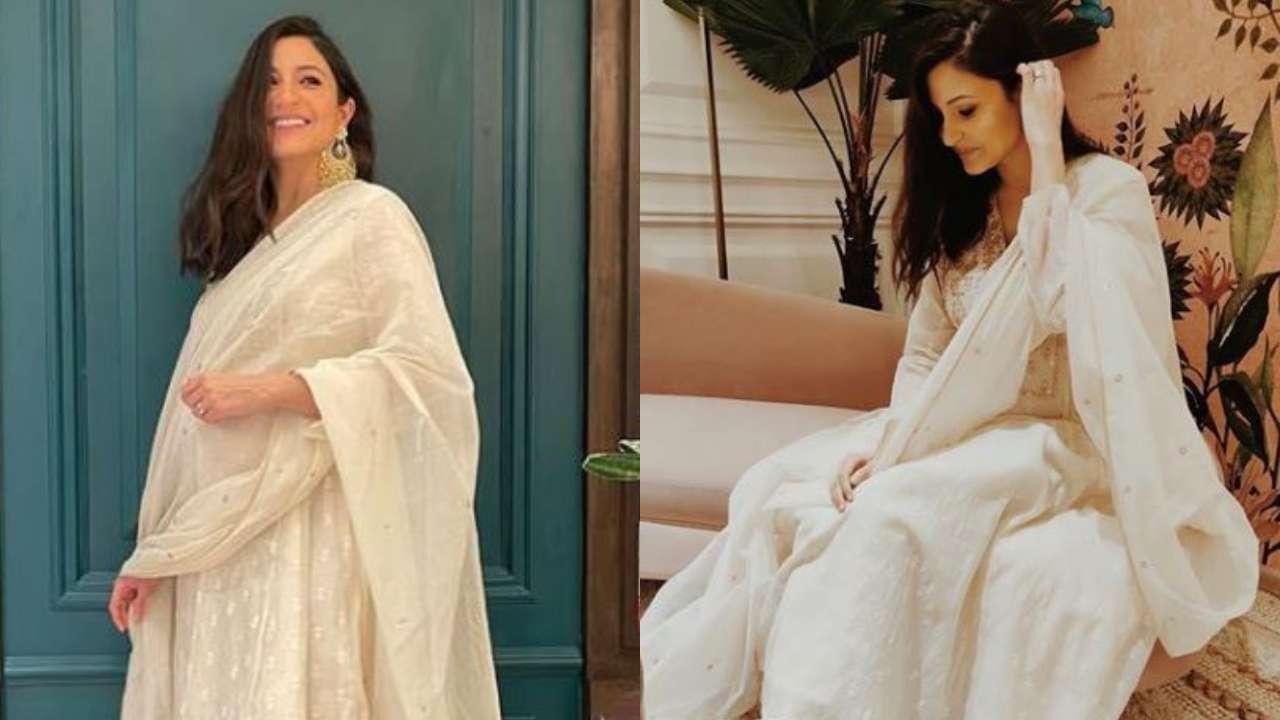 "Actors Gossips: YouTube channel slammed for adding ""ek chutki sindoor"" on Anushka Sharma Diwali picture"