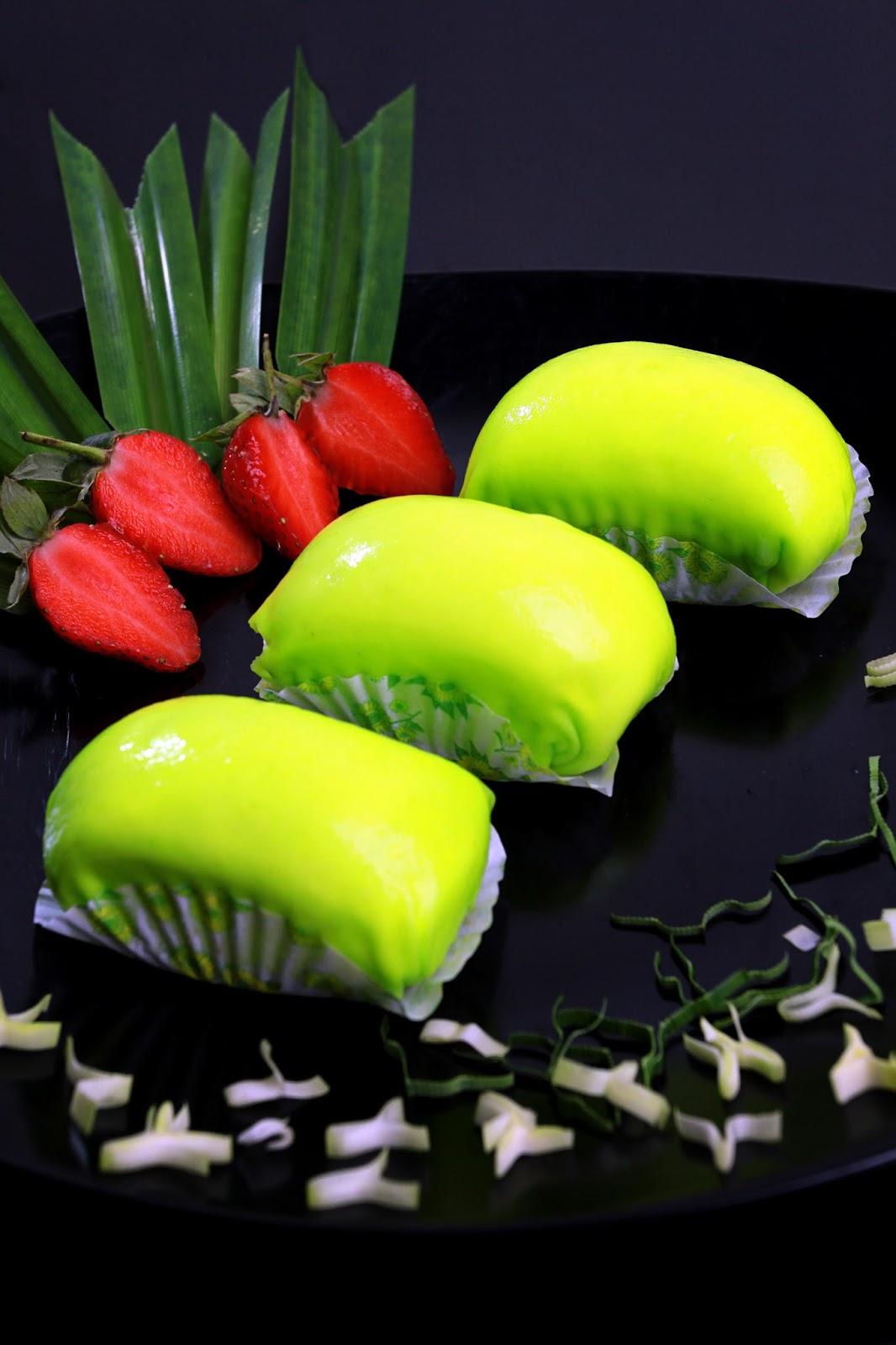 Pancake Durian Pandan