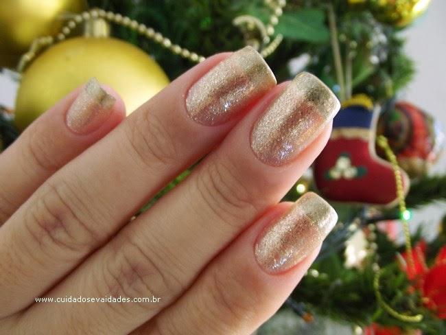 Passo a Passo: Unhas Festas Fim de Ano - Natal, Ano Novo