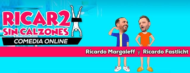 """""""Ricar2 Sin Calzones"""" presentarán su show vía Streaming a través de Eticket Live"""