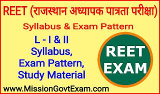 Reet / rtet syllabus in hindi pdf