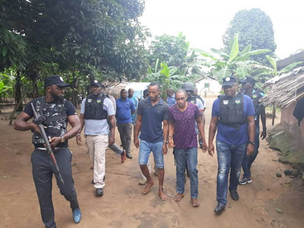 See How Notorious Kidnappers Who Killed NNPC Staff Were Arrested (Photos)