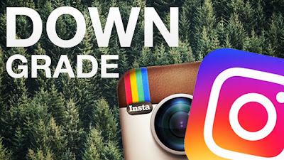 Cara Downgrade Instagram ke Versi Lama