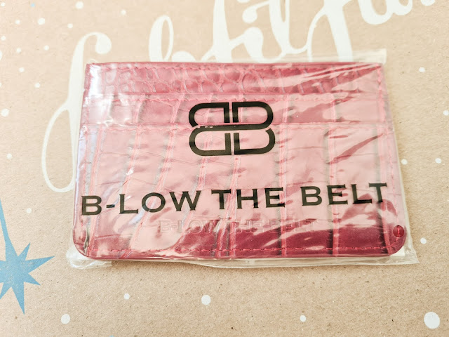 B-Low The Belt Croc Card Case review