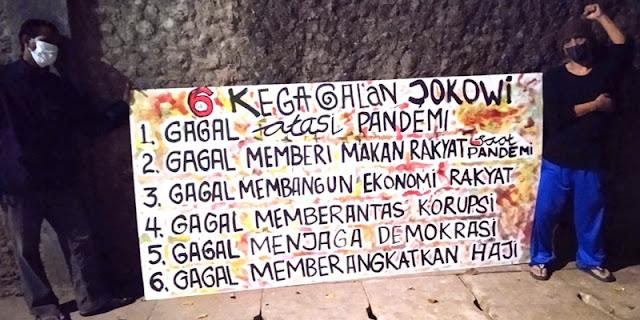 Mural Kritis Kembali Menghiasi Jakarta, Kali Ini Berisi 6 Kegagalan Jokowi