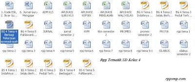 Download Rpp Tematik Kelas 1 2 3 4 5 6 SD Kurikulum 2013 Revisi 2017