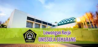 Penerimaan Pegawai Universitas Sultan Agung Semarang Formasi Dosen Tahun 2020