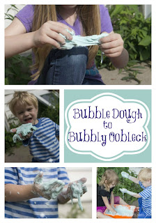 Bubble Dough to Bubble Oobleck