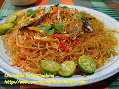 Pansit Tinapa Bihon Recipe