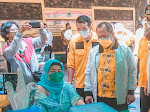 DPD Golkar Sidoarjo Sediakan 500 Vaksin Untuk Warga