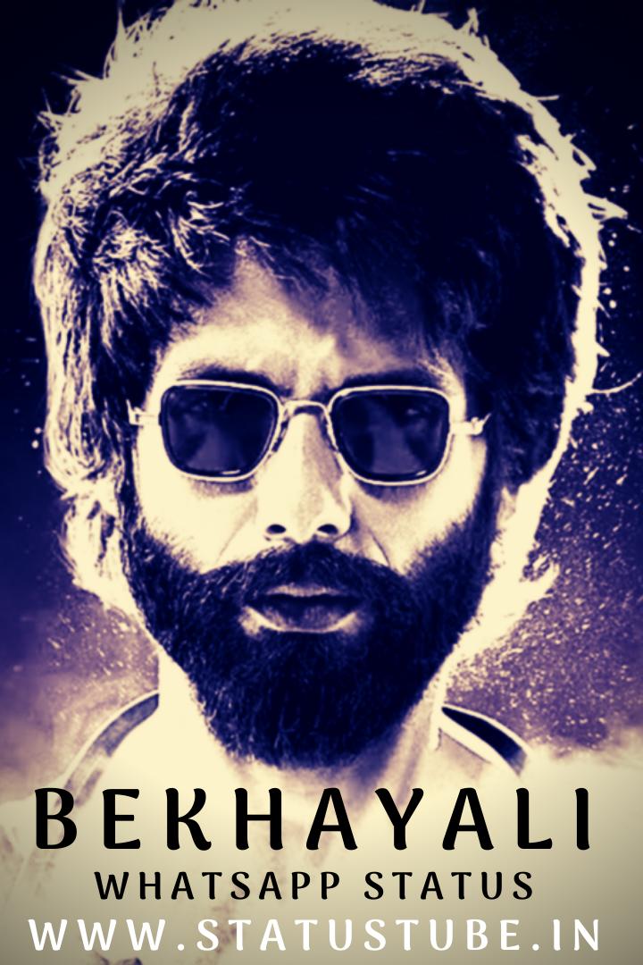 Best 10 Bekhayali Full Screen Whatsapp Status Video Download