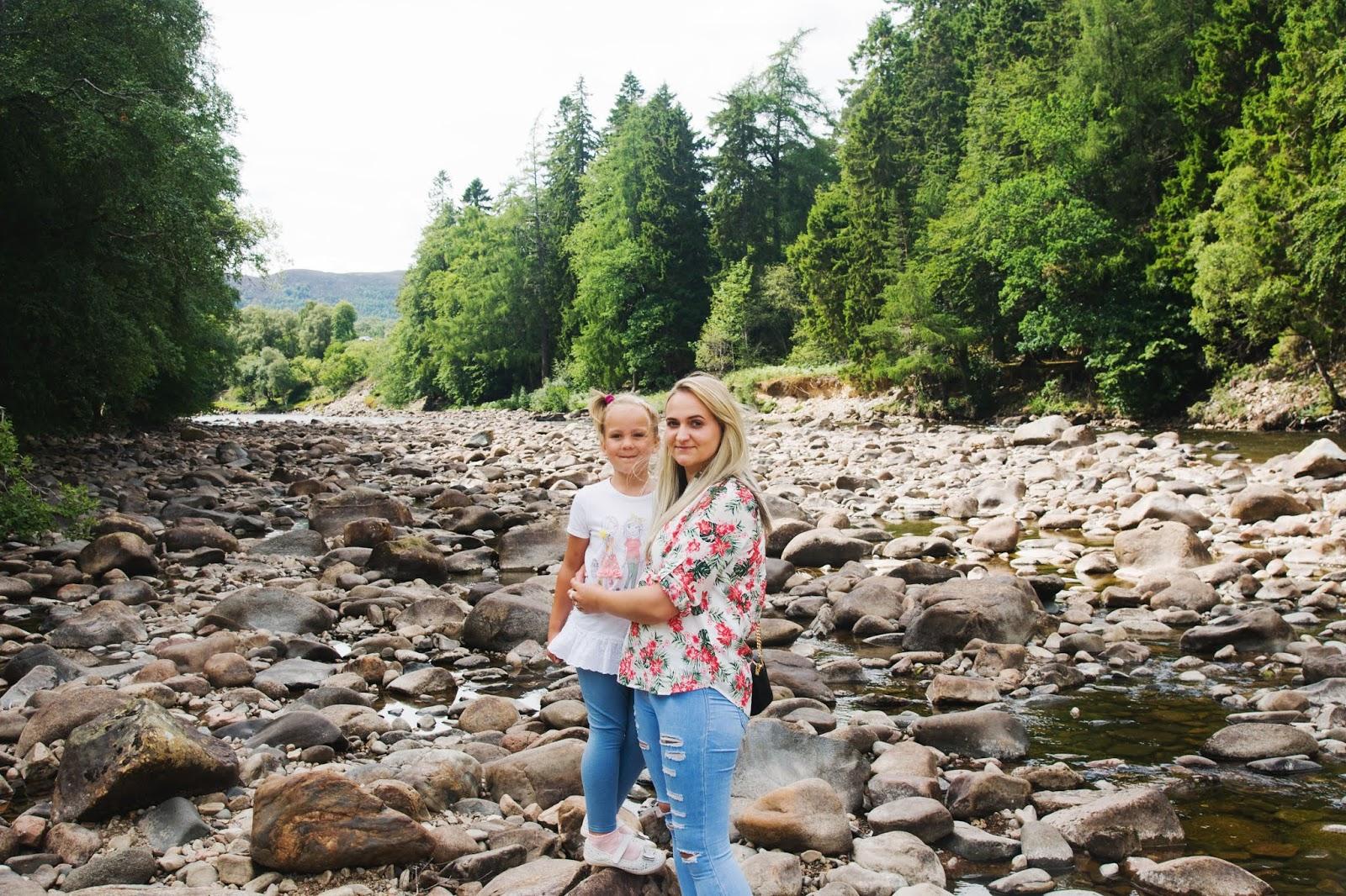 River dee rarmolar castle scotland aberdeen