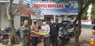 Posko Bantuan Bencana KSOP Marunda Masih Tampung Bantuan