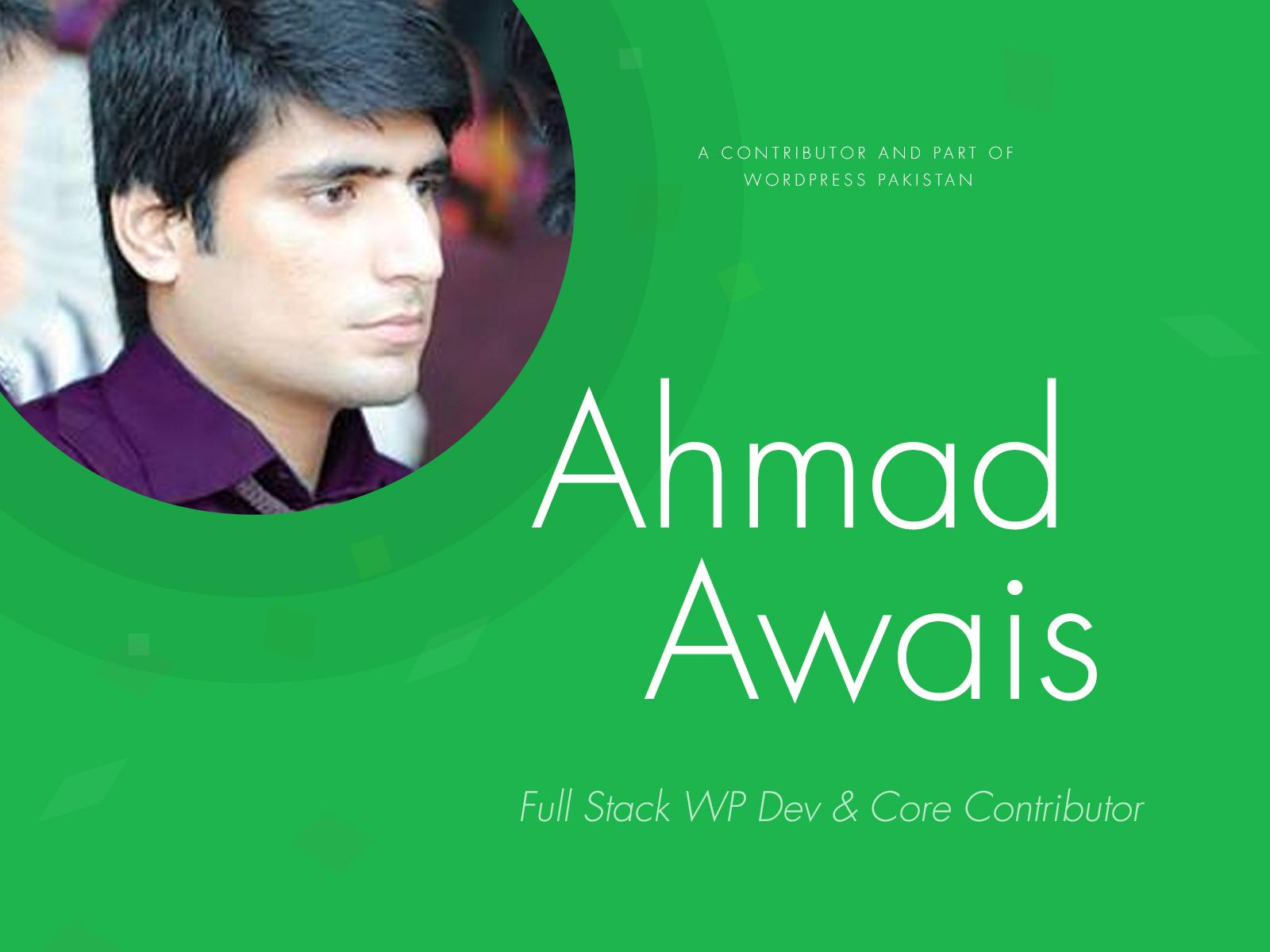 Ahmad Awais Launches Script