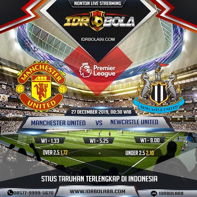 IDRBOLA - Prediksi Bola Manchester United vs Newcastle 27 Desember 2019