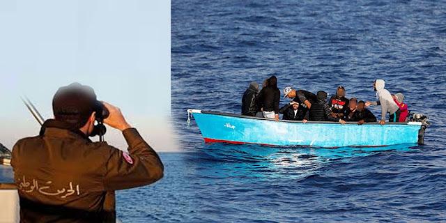 المهدية : إيقاف 42 مهاجرا غير نظامي من بينهم 6 أشخاص مفتش عنهم