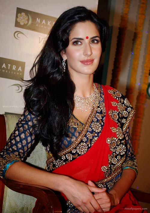 Katrina Kaif in saree bollywood actress