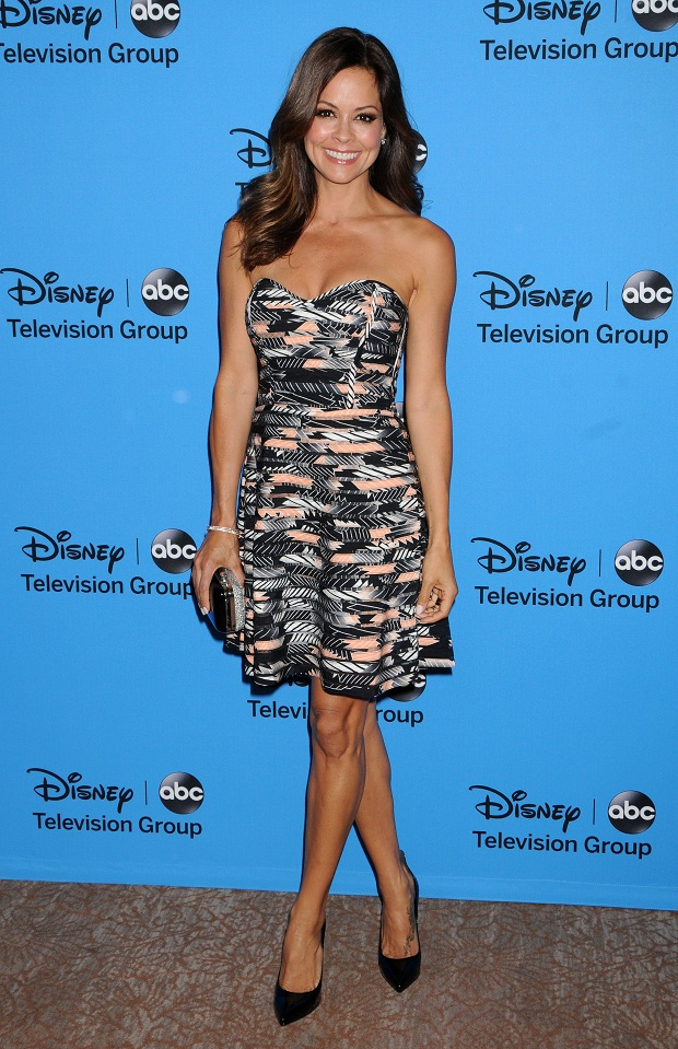 Brooke Burke at the Disney & ABC's 2013 Summer TCA Party