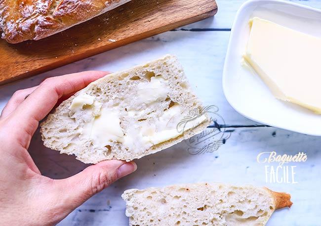 recette baguette de pain