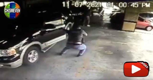 Así fue como el FAES le robó la cadena, el celular y la cartera al Chofer de Juan Guaidó