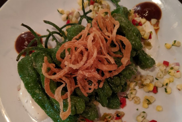 What to eat in Boston: padron peppers at EVOO