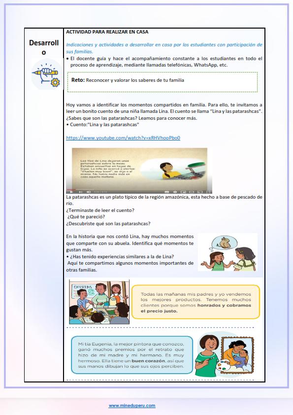 Actividad de aprendizaje tutoría