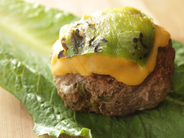 Hatch Season Strikes Again! (Hatch chile burger)