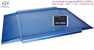 Loại cân sàn excell 5-15 tấn chính hãng HTH
