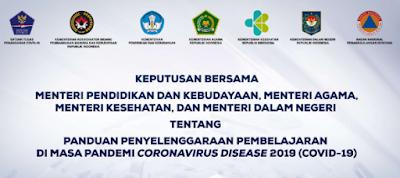 Panduan Pembelajaran di Masa Pandemi-COVID-19 (Paparan Mendikbud SKB Empat Menteri)