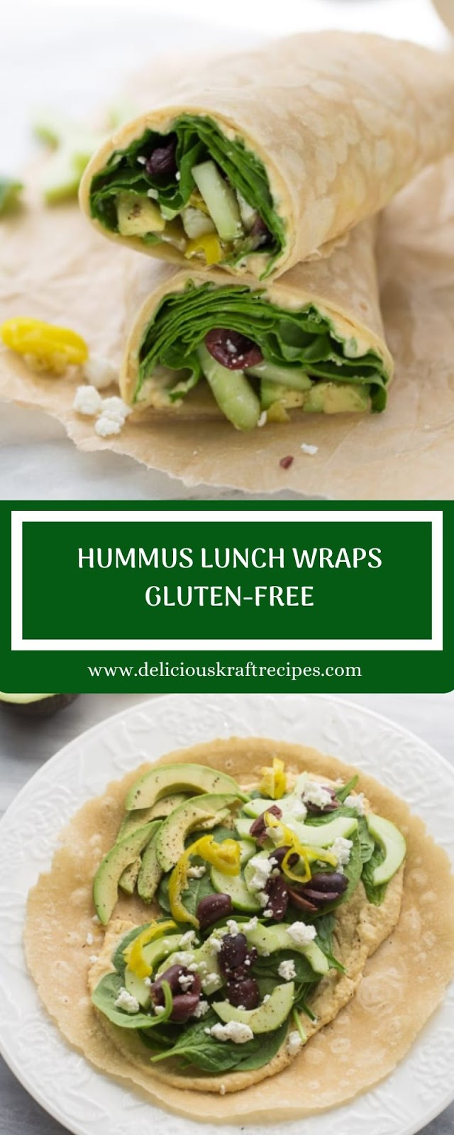 HUMMUS LUNCH WRAPS GLUTEN-FREE