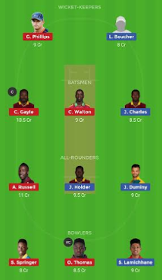 BAR VS JAM dream 11 team | JAM vs BAR