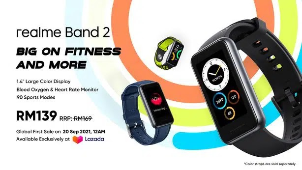 realme Malaysia, realme Band 2, Rawlins GLAM, Rawlins Tech, Rawlins Gadget, Rawlins Lifestyle