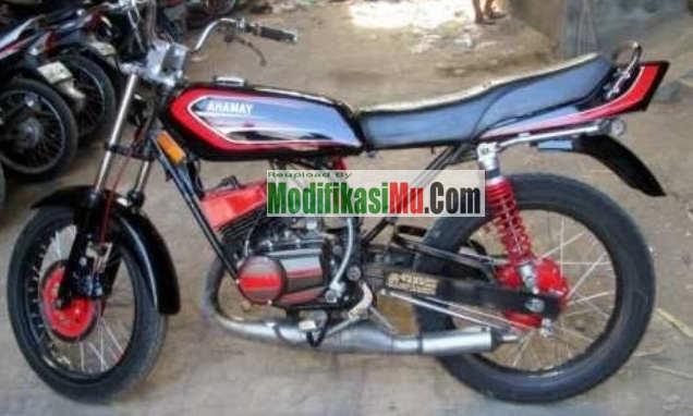 Modifikasi Sepeda Motor Yamaha RX Spesial - Spesifikasi Harga dan Perbedaan Yamaha RX S dengan RX Spesial