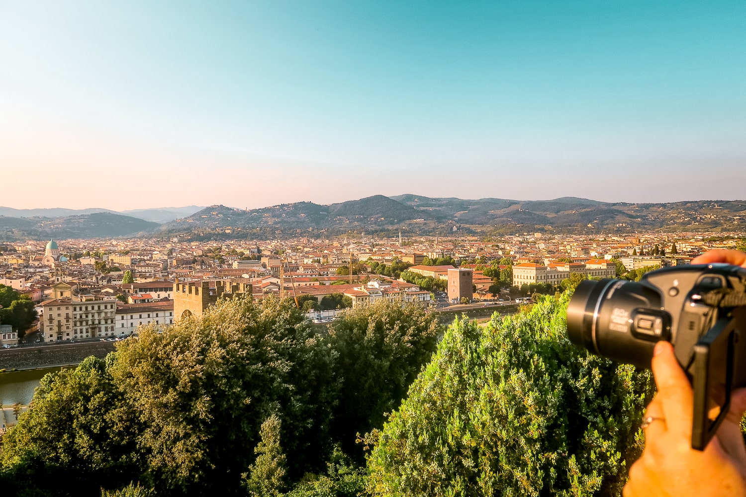 Piazzale Michelangelo Viewpoint, Florence Italy Travel Guide, Things to do in Florence Italy