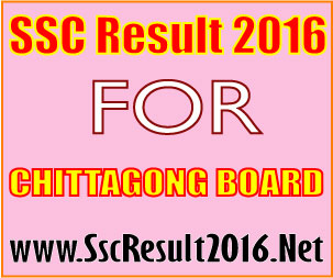 SSC Result 2016 Chittagong Board