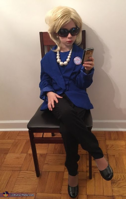 hillary halloween costume idea for kids