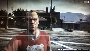 GTA V, Take Photo, Share on Twitter, Facebook