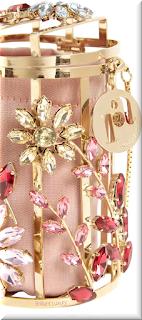 Sparkling pink Rosantica Hippy Sofia shoulder bag #bags #eveningbags #rosantica #brilliantluxury