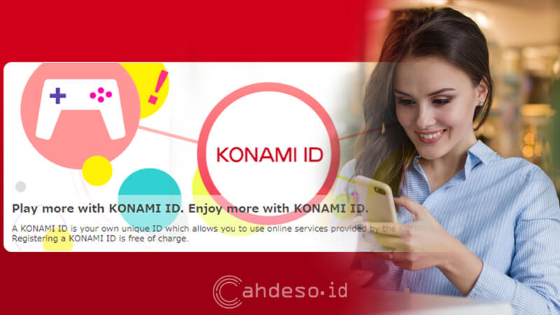 Cara Register Akun ID KONAMI