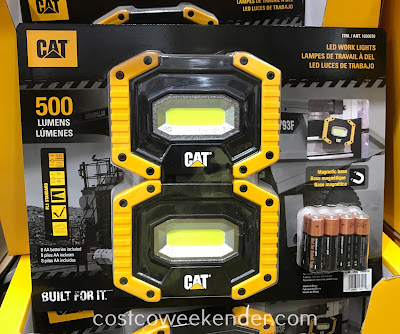 Ensure you have enough lighting when working in your garage or workshop with the Cat LED Work Light