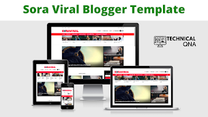Sora Viral Responsive Blogger Theme | Perfect And Unique Theme - Responsive Blogger Template