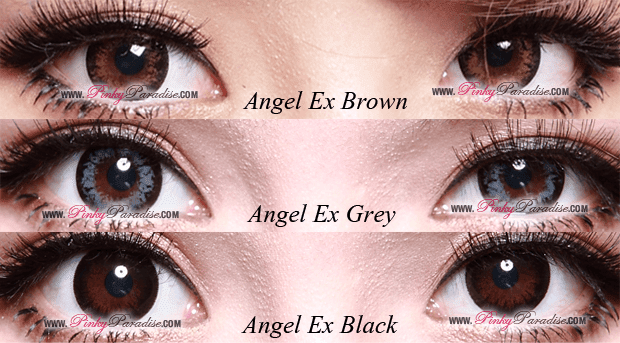 G&G Angel Ex Series Circle Lenses (Colored Contacts) Close-up