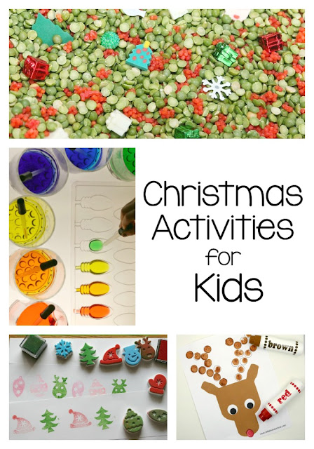 Tons of Christmas crafts and activities for kids