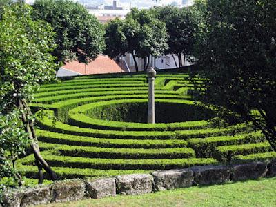Labirinto no Parque de São Roque