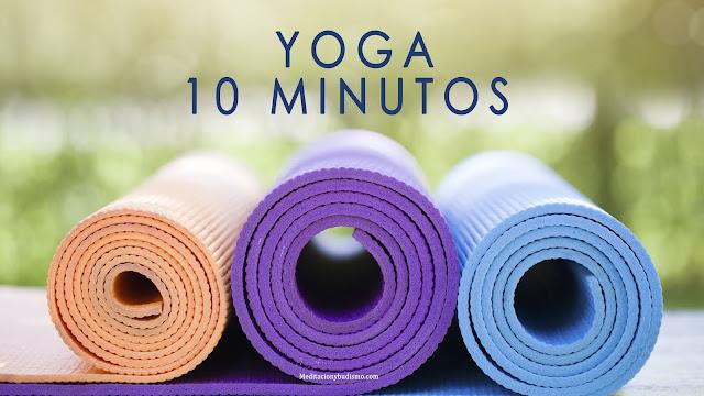 Yoga exprés en 10 minutos